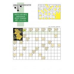 mots fléchés petit format pack de 4 grilles