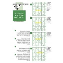 sudoku spécial histoire pack de 4 grilles